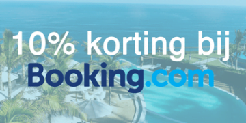 10% korting Booking.com afbeelding